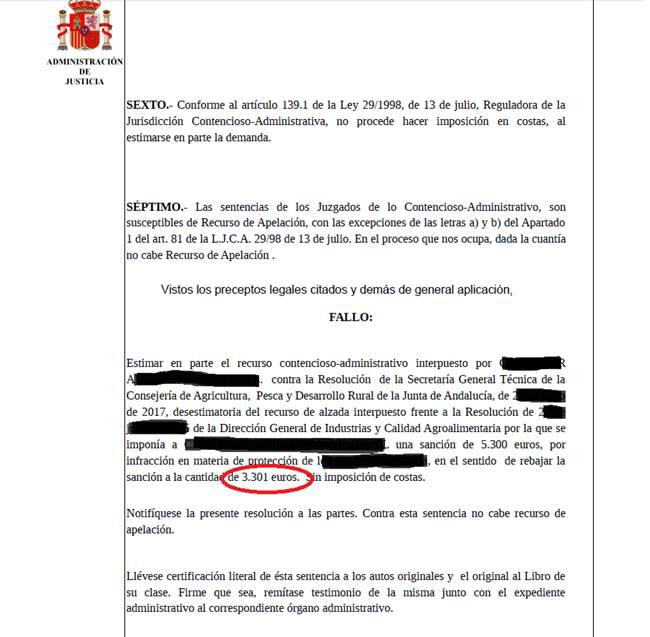 Documento Sanción Administrativa